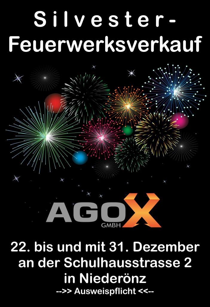 Silvester Feuerwerk Verkauf 2015